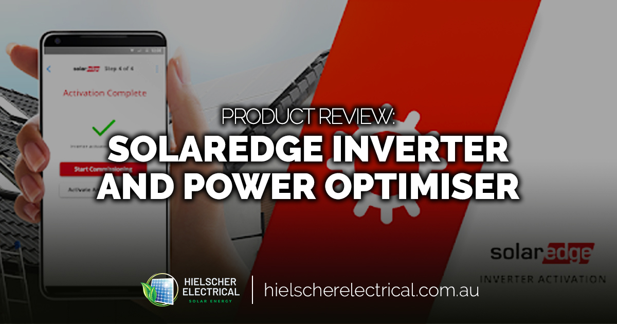 Product Review: SolarEdge Inverter and Power Optimiser